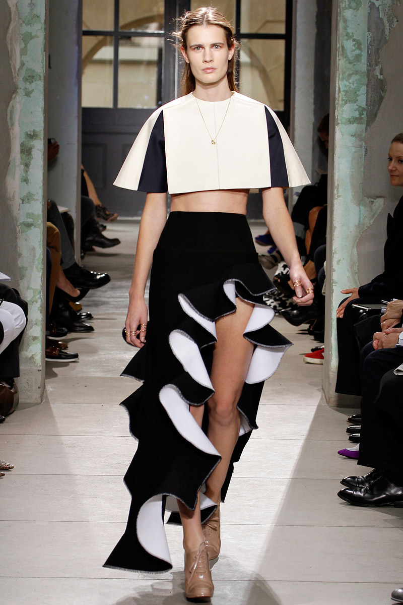 The Wawidoll Fashion Files Balenciaga Spring 2013 Rtw