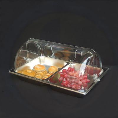 Khay trưng bày bánh, trái cây