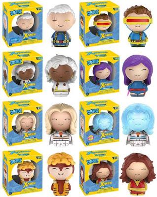 Classic X-Men Dorbz Vinyl Figures by Funko - Cyclops, Dark Phoenix, Storm, Psylocke, Sabretooth, Emma Frost, Diamond Variant Emma Frost & Walmart Exclusive Cable