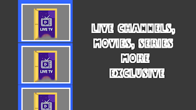 NEW APK IPTV : LIVE CHANNELS, MOVIES, SERIES AND MORE | EXCLUSIVE