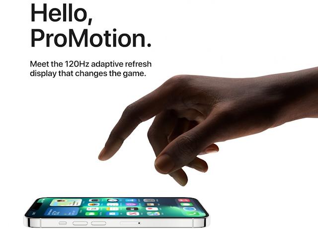 لا تعرض هواتف iPhone 13 Pro و 13 Pro Max جميع التطبيقات بتردد 120 هرتز