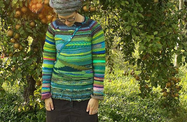 swetry z resztek