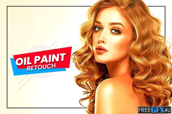 Oil Paint Retouch