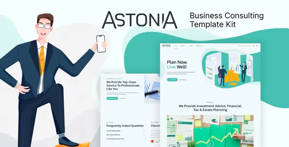 Best Business Consulting Elementor Template Kit