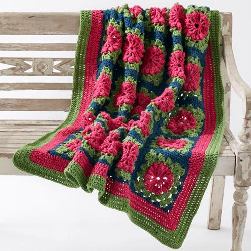 Petal Pops Blanket - Free Pattern