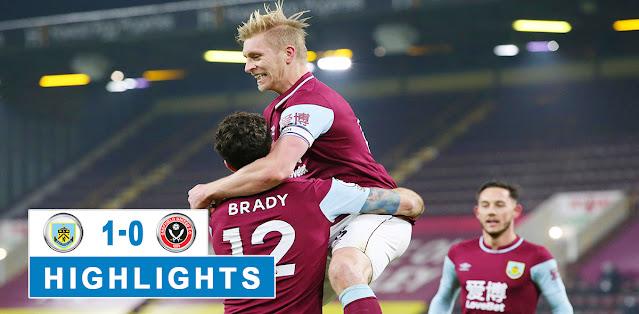 Burnley vs Sheffield United – Highlights