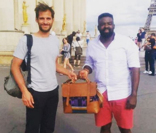 kunle afolayan finds missing bag