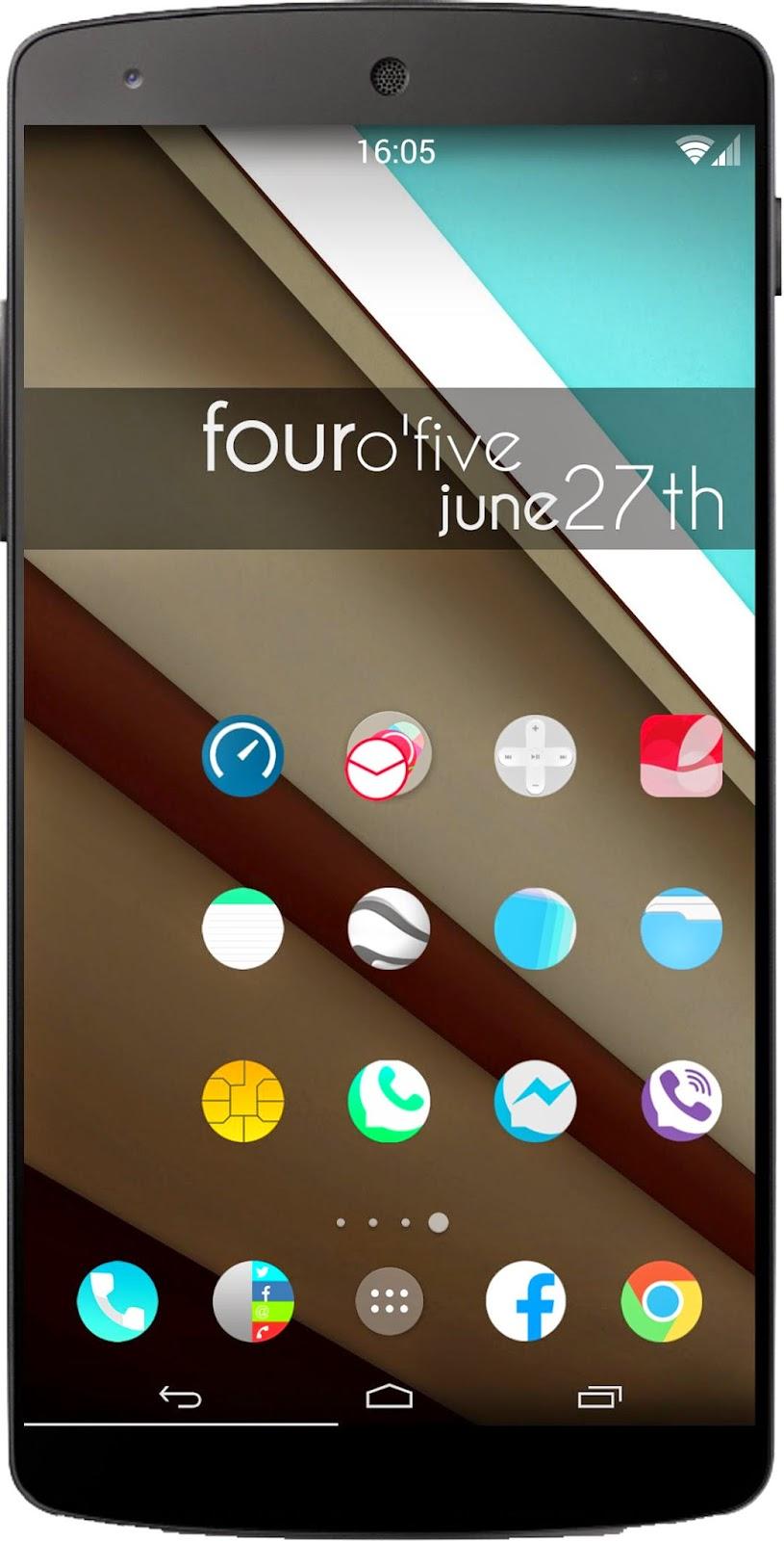 Themes For Android Aeron Icon Pack Theme Hd To Nova