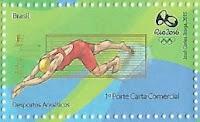 Selo Esportes aquáticos