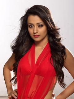 Trisha Krishnan Sexy Photoshoot For the Movie Samar romancing with Vishal