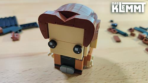Han Solo, klar erkennbar