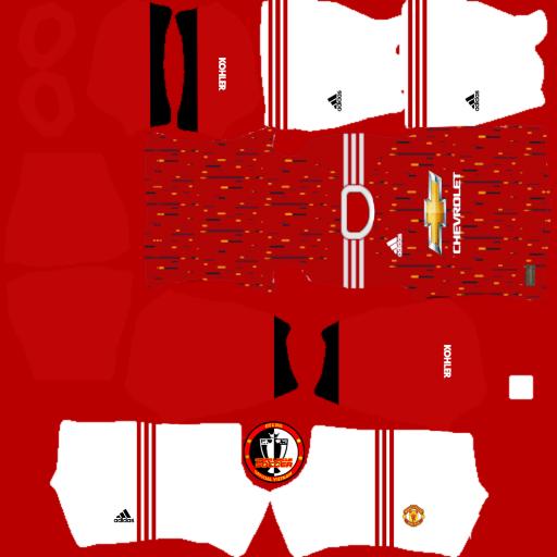 Kits Manchester United mùa giải 2021 - Dream League Soccer 2021