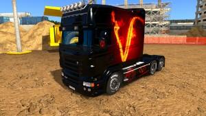 Vendetta skin for EXC Longline Scania RJL