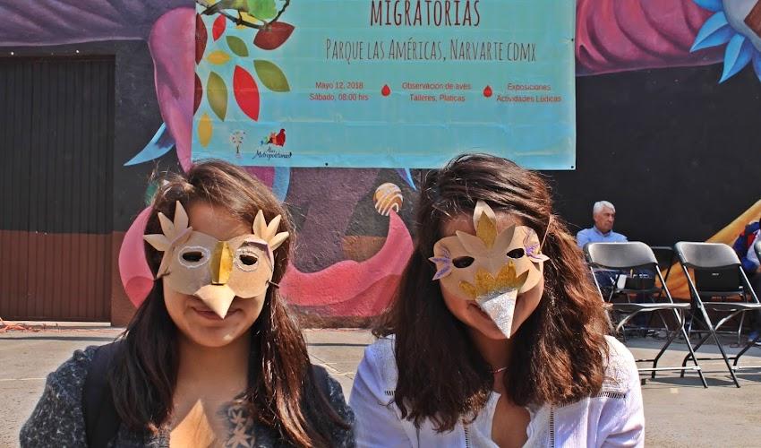 GRACIAS POR PARTICIPAR, Día Mundial de las Aves Migratorias.
