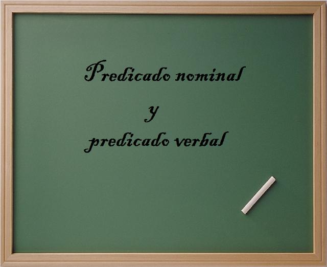 predicado nominal