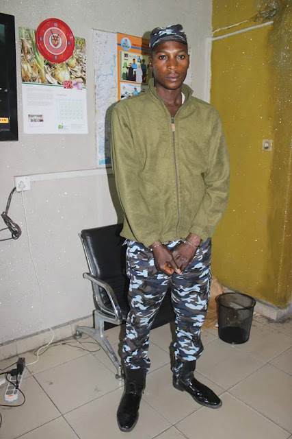 Rivers police nabs fake officer