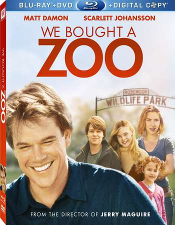 Poster Of We Bought a Zoo 2011 English 350MB BRRip 480p ESubs Free Download Watch Online Worldfree4u