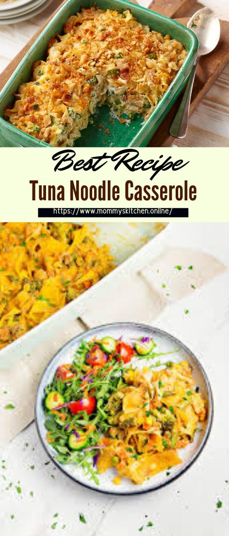 Tuna Noodle Casserole #dinnerrecipe #food #amazingrecipe #easyrecipe