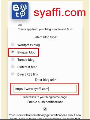 Cara Membuat Aplikasi Webview Blog atau Website