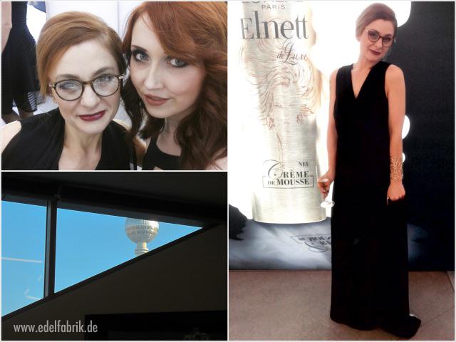 Fanzi und Chrissie, ein Abendlkleid und der Berliner Fernsehturm