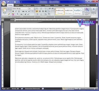 Cara Membuat Dummy Text Otomatis Di Microsoft Word (Offline)