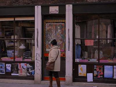 Come si presentava la facciata di Aldo Strasse (foto di Enzo Pedrocco)