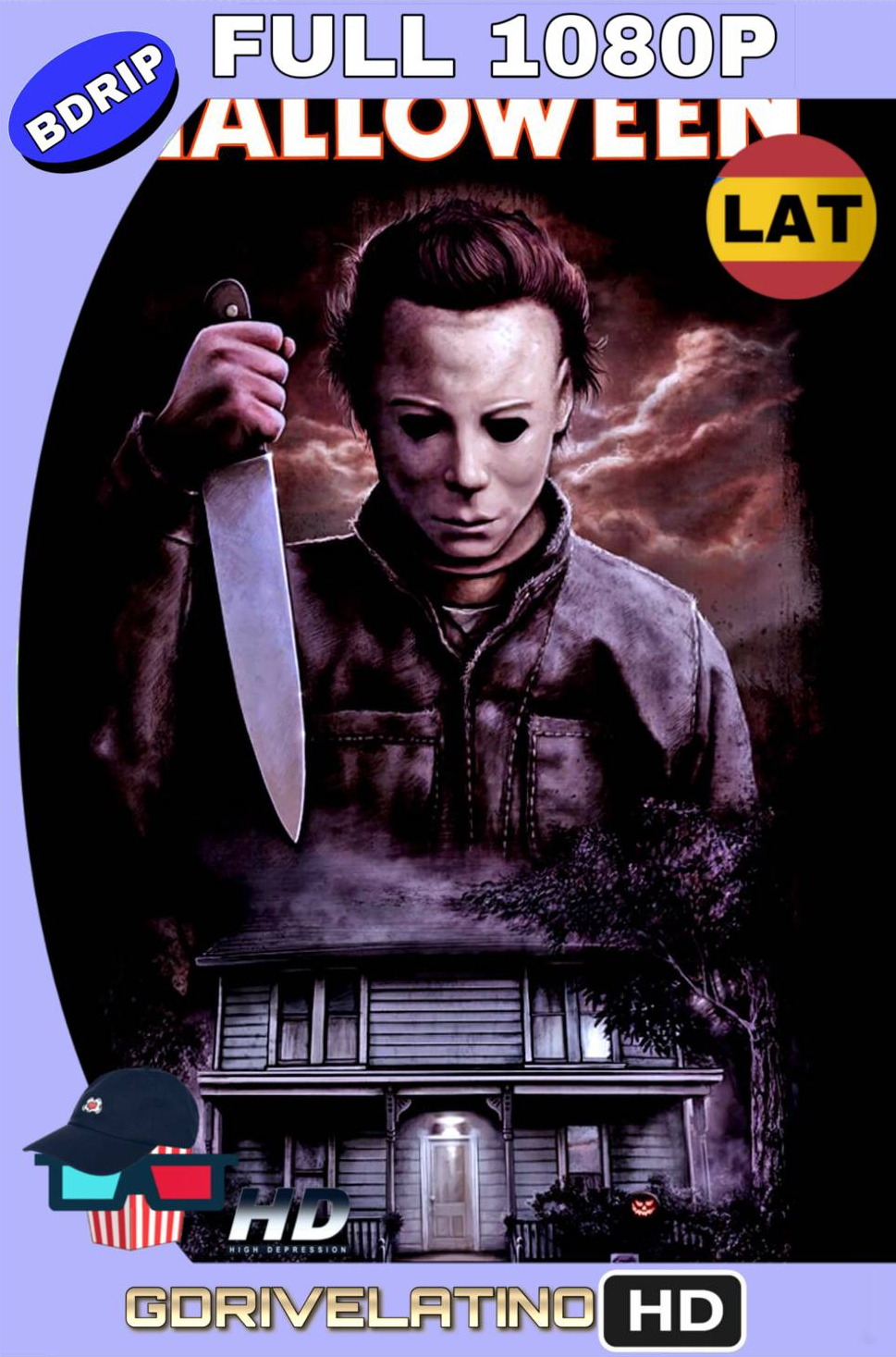 Halloween (1978) BDRip FULL 1080p Latino-Ingles MKV