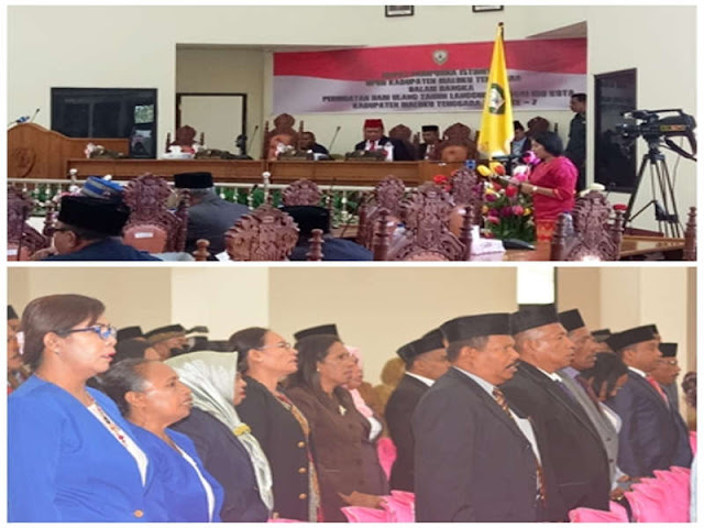 DPRD Maluku Tenggara Gelar HUT ke 7 Kota Langgur