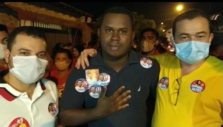 Líder da juventude da oposição adere a campanha de Deibson Balé em Trizidela do Vale.