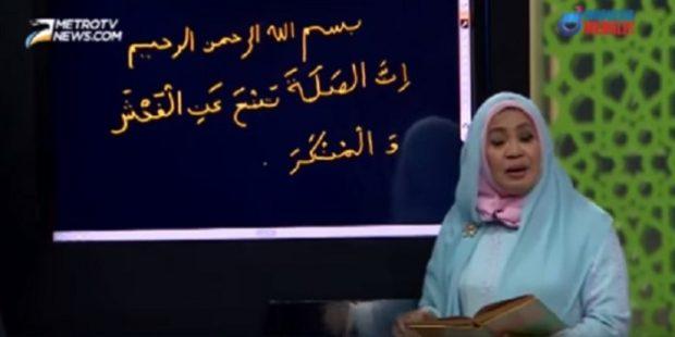 Tulisan Ayat Al Quran Keliru, Metro TV Sampaikan Maaf