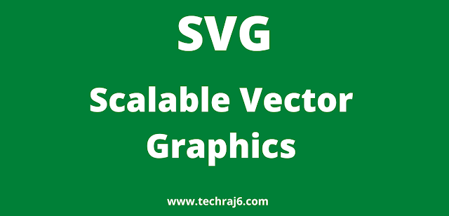 SVG full form, What is the full form of SVG