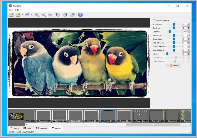 XnRetro : Δημιουργήσετε  καλλιτεχνικές φωτογραφίες