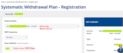 Tata Mutual Fund SWP