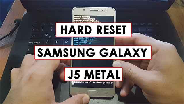 desbloquear - hard reset Samsung Galaxy J5 Metal