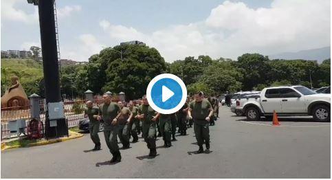 """Estos """"Gorditos"""" defenderán a Nicolás Maduro de un ataque americano"""