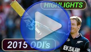 2015 odi cricket matches highlights online
