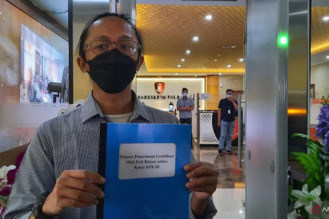ICW Laporkan Firli Bahuri ke Bareskrim Polri