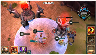 Legendary Heroes MOBA Apk - Free Game Role Playing Game For Android