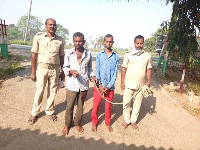 ब्रह्मपुरा से मूर्ति गायब करने के आरोपी पिता-पुत्र को पुलिस ने किया गिरफ्तार