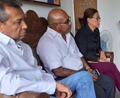Gobernador Ramón Guevara coordina acciones con nueva directiva de Fundahovig