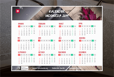 Download Kalender 2019 M / 1440 H