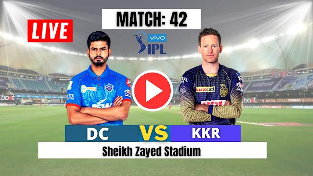 Delhi vs Kolkata ,Match 42 : Watch Live Cricket Streaming online