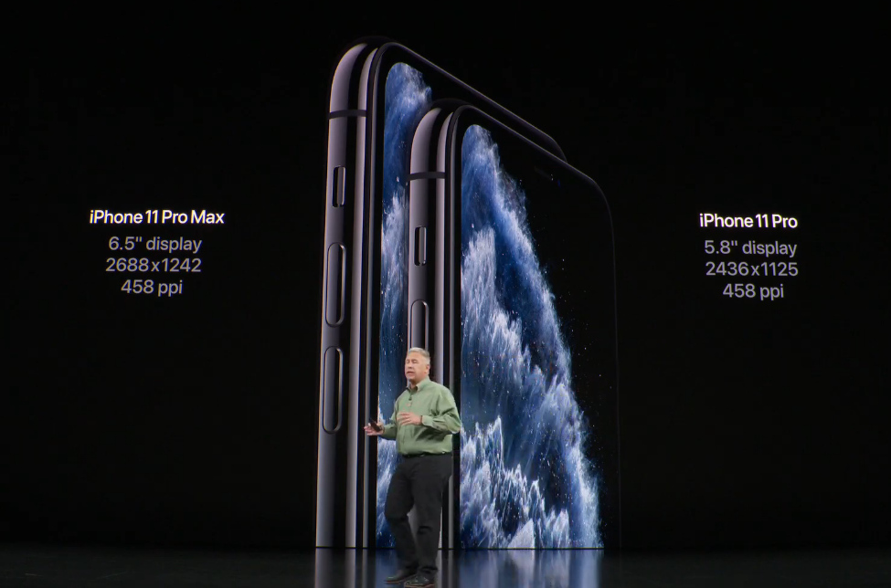 Apple iPhone 11 Pro vs Apple iPhone 11 Pro Max