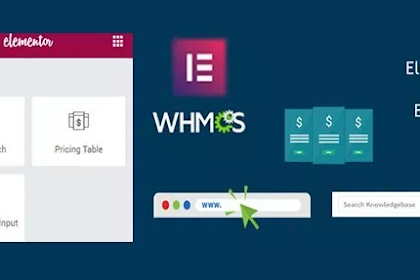 Elementor WHMCS Elements Pro For Elementor Builder v2.7