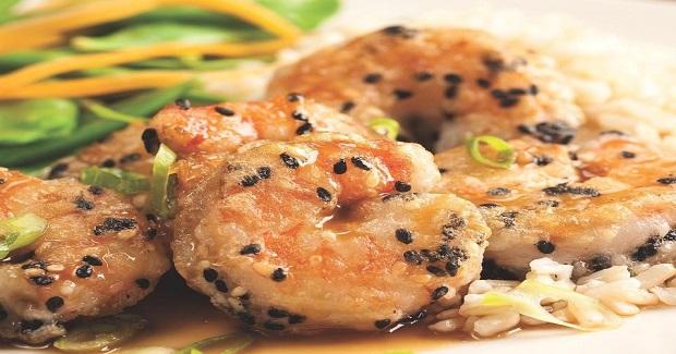 Sesame-Orange Shrimp Recipe