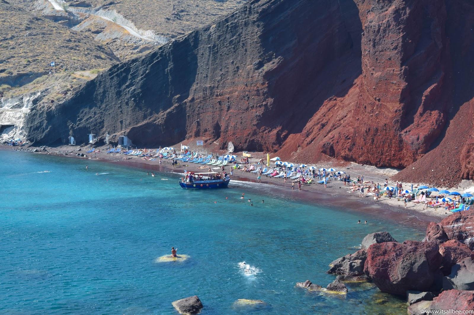 Santorini Beaches | Guide To The Best Beaches In Santorini