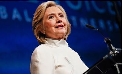 'Stop Killing #EndSARS Protesters' - Hillary Clinton Blasts Buhari, Nigerian Army
