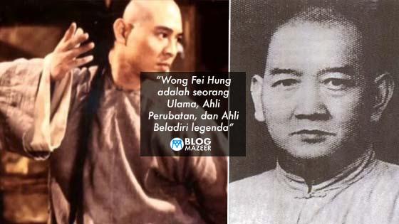 Rupanya Lagenda Kung fu China Wong Fei Hung Benar-Benar Wujud Dan Nama Arabnya Adalah Faisal Hussein Wong