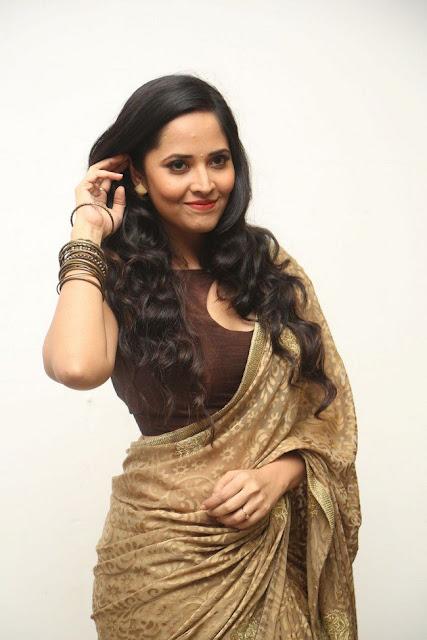 Actress Anasuya Latest Stills at Nirmala Convent Audio Launch