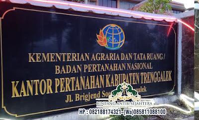 Nameboard Bahan Granit, Peresmian Nameboard Granit,